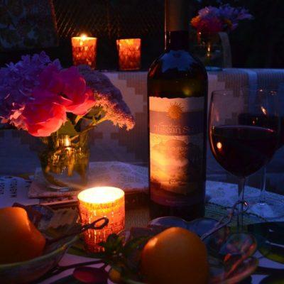 candlelight picnic orange va